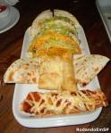Tacos, quesadillas, taquitos e burrito (amplie)