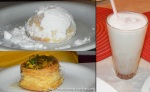 Docinhos e suco de coco (amplie)